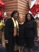 Celebrating with Delta sorors from college