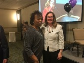 MSEA president Betty Weller's retirement
